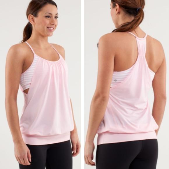 120a71caab lululemon athletica Tops | Lululemon No Limits Tank In Pig Pink ...